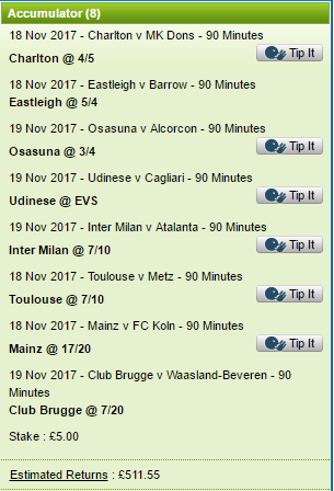 18.11.17 Selections Ex