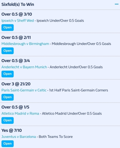 22.11.17 Selections